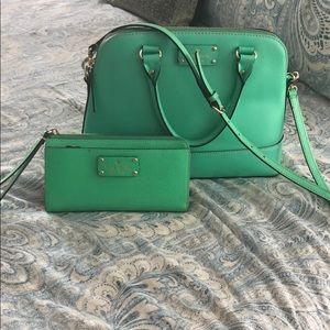 Kate Spade purse and wristlet